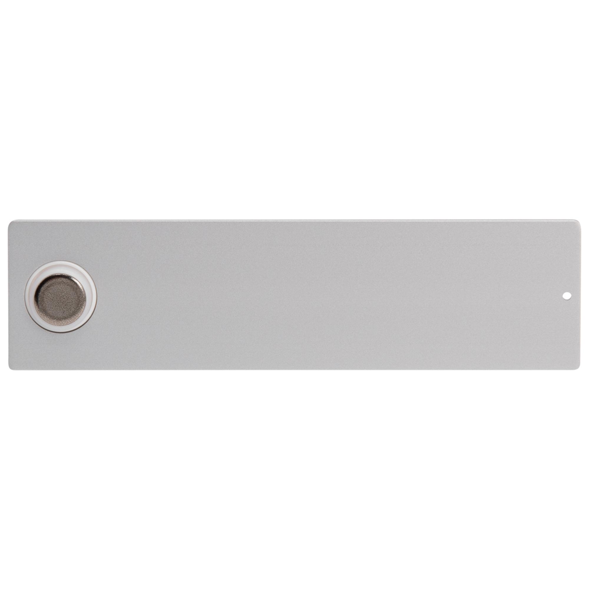 RSA2-kompakt ALU-Namensschild mit Klingelknopf