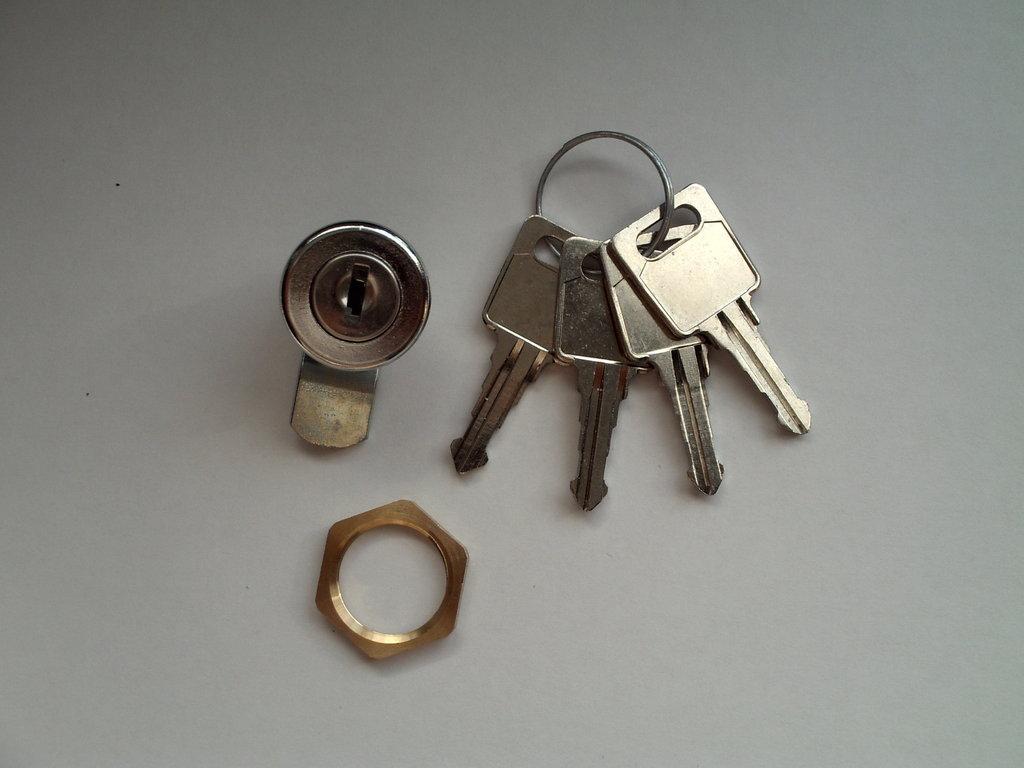 Briefkastenschloss J1 4 Schlüssel für Ju 21-109