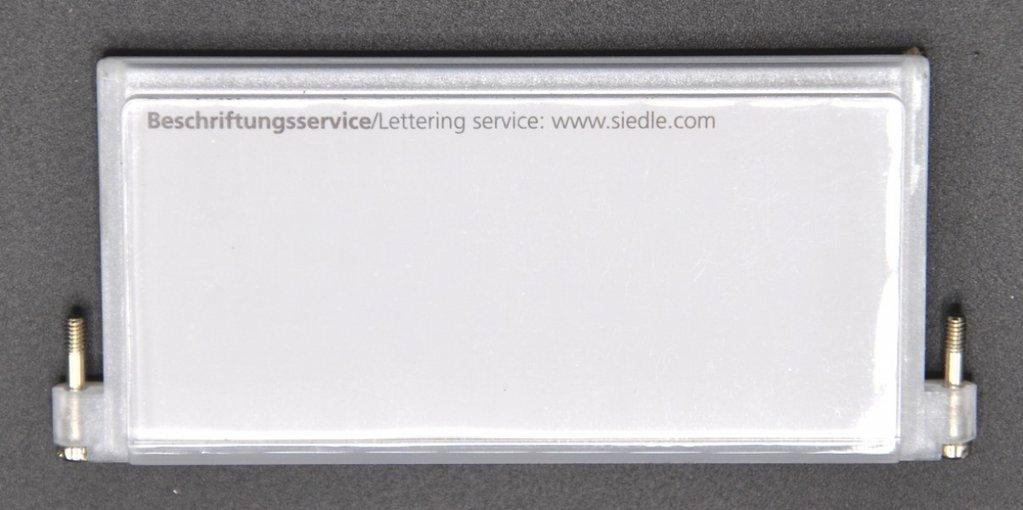 Namenschildträger TM511-02 für Siedle Klingeltableau weiss