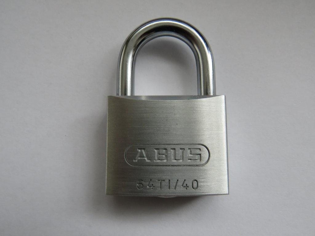 ABUS Vorhängeschloss TITALIUM Serie 64TI/40 verschiedenschließend